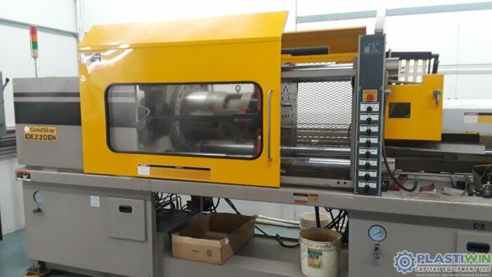 Used 220 Ton Goldstar IDE220EN-19 Injection Molding Machine