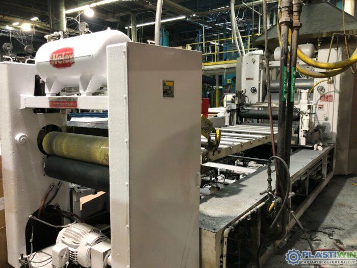 41 Wide Welex Sheet Extrusion Line with 300 HP Welex Extruder (1)