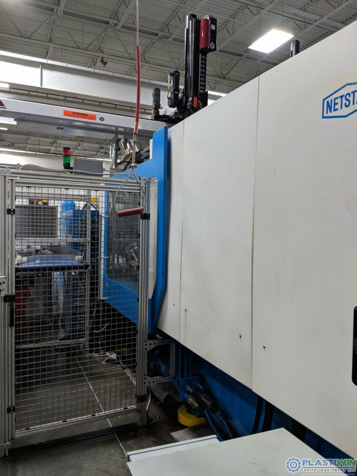 Used 336 Ton Netstal Model S 3000-1700 Injection Molding Machine