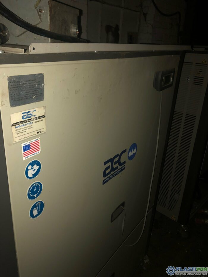 Used 10 Ton AEC GPWC40 Water Cooled Chiller 1 Used 10 Ton AEC GPWC40 Water Cooled Chiller