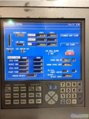 Used 500 Ton Nissei FN8000 Injection Molding Machine 1 Used 500 Ton Nissei FN8000 Injection Molding Machine