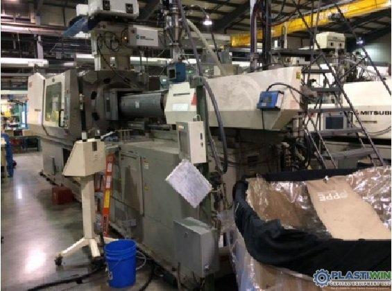 Used 500 Ton Nissei FN8000 Injection Molding Machine 2 Used 500 Ton Nissei FN8000 Injection Molding Machine