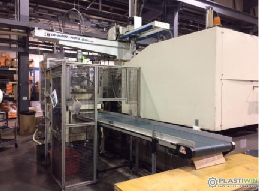 Used 500 Ton Nissei FN8000 Injection Molding Machine 3 Used 500 Ton Nissei FN8000 Injection Molding Machine