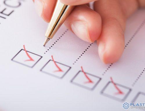 Free Used Plastics Machinery Inspection Checklist