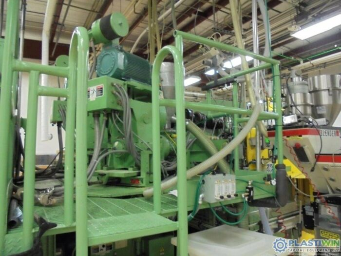 model 304d blow molding extrusion equipment