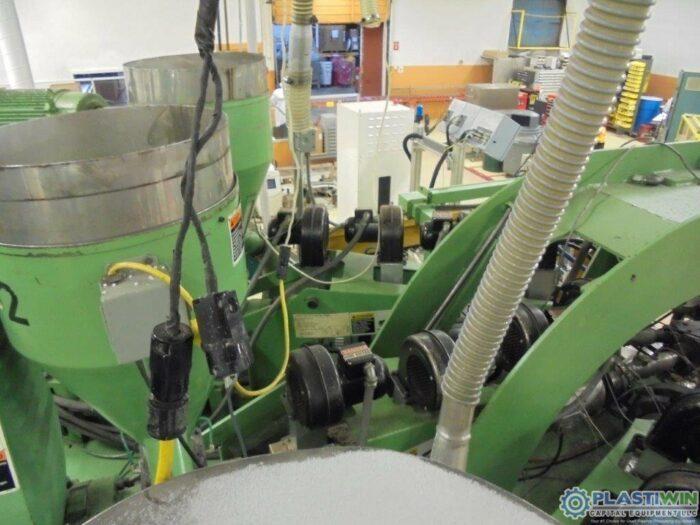 used extrusion blow molding machine bekum brand