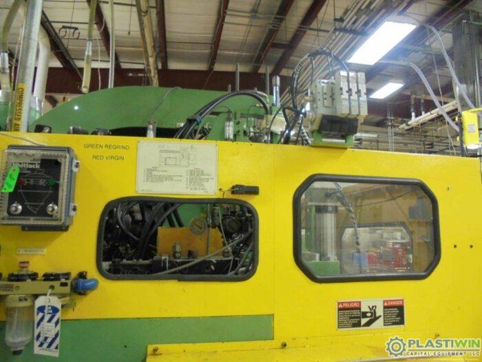 used bekum BM 304D extrusion blow molding machine