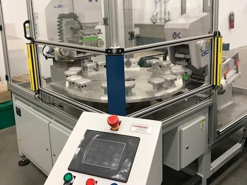 used diversified ksd 130r pad printer