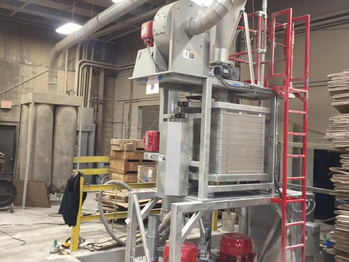 used reduction engineering twin mill 75 hp pulverizer