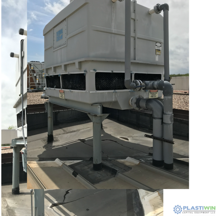 Used Thermal Care Model PTS1600 Pump Station & Cooling Tower 1 Used Thermal Care