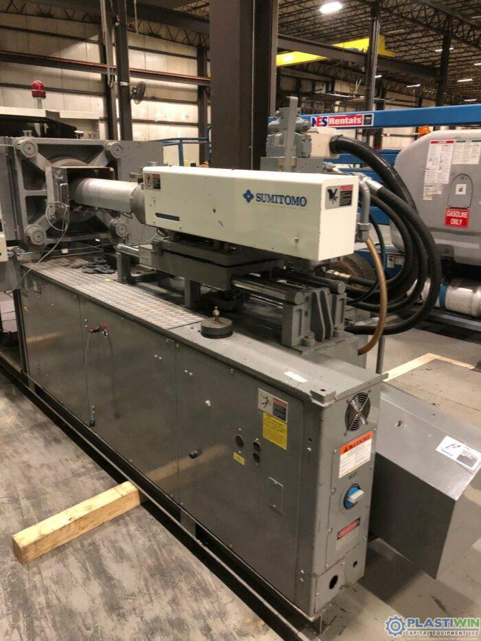 110 Ton Sumitomo SH100C Injection Molding Machine 5 Used 110 Ton Sumitomo SH100C Injection Molding Machine