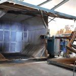REI 2 Arm Swing Shuttle Rotational Molding Machine (2)
