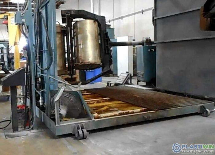 REI 2 Arm Swing Shuttle Rotational Molding Machine (8)