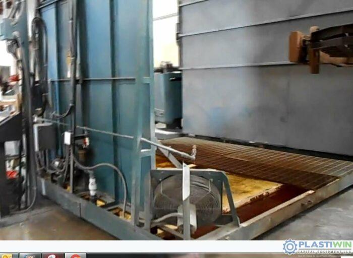 REI 2 Arm Swing Shuttle Rotational Molding Machine (9)