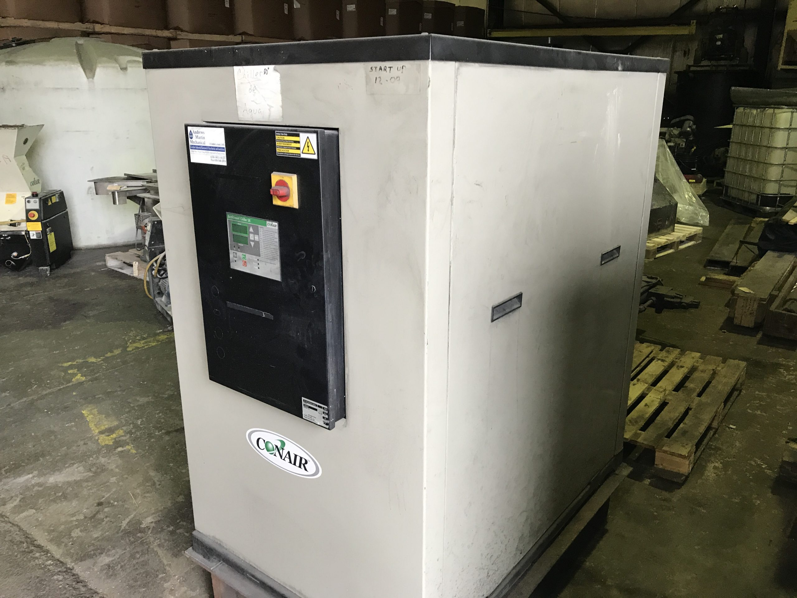 10 Ton Conair ECW10 Water Cooled Chiller (2)