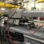 used van dorn 500 ton model 500ht60f plastic injection molding machine