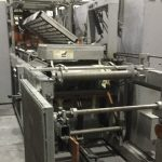 used brown sr2525 inline thermoformer