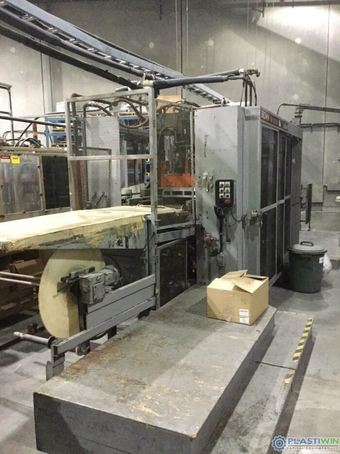 used brown sr2525 inline thermoformer for sale