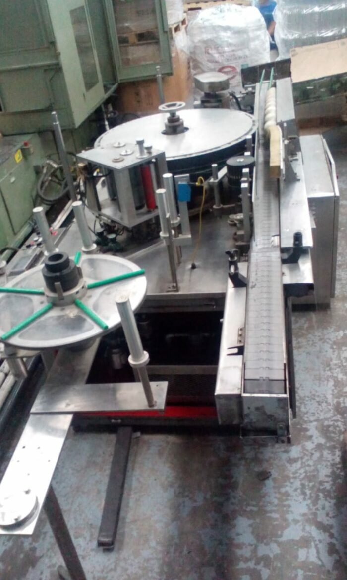 Polyclad Labeler PET Bottles used machinery