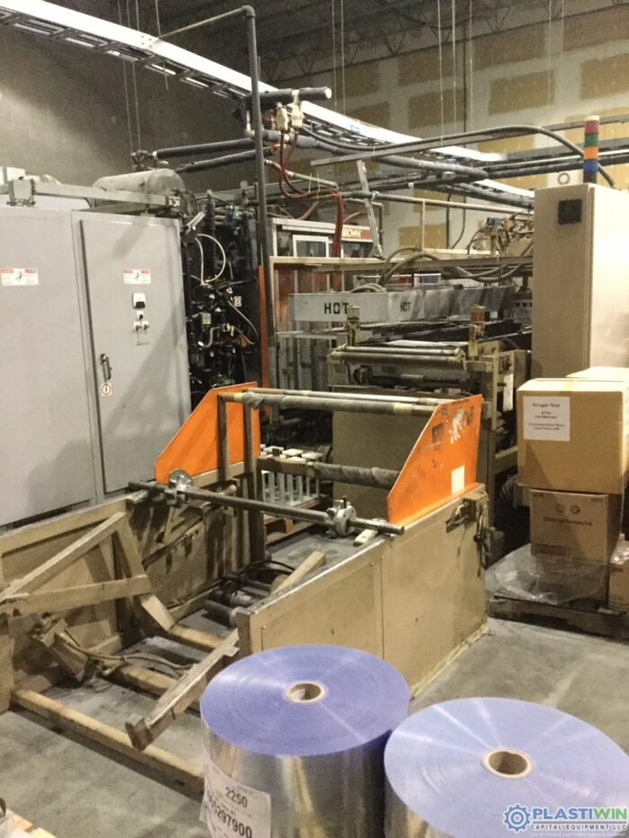 used zed industries inline thermoformer for sale
