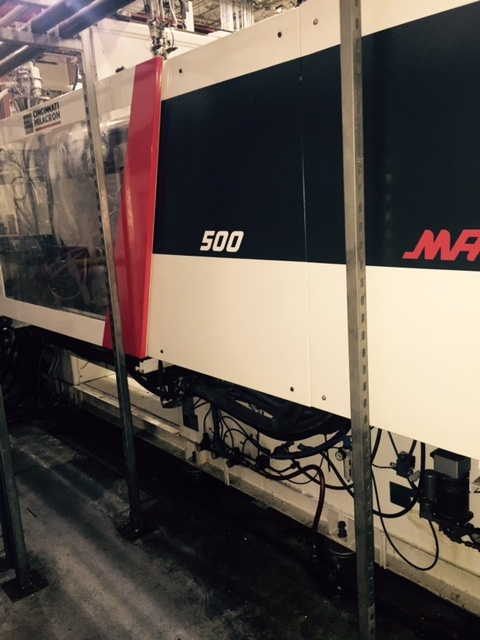 mts500 used injection molding machine for sale
