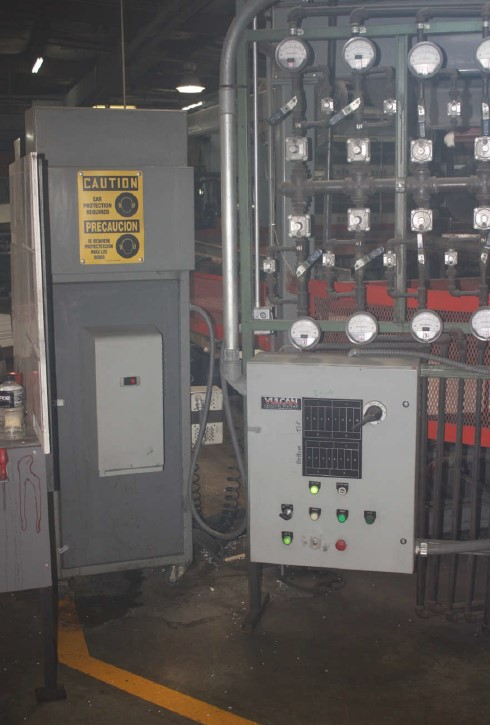 used maac 3 station rotary thermoformer equipment