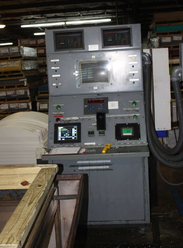 used maac 4 station rotary thermoformer machine for sale