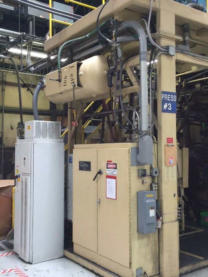 used 1995 graham blow molding machine for sale