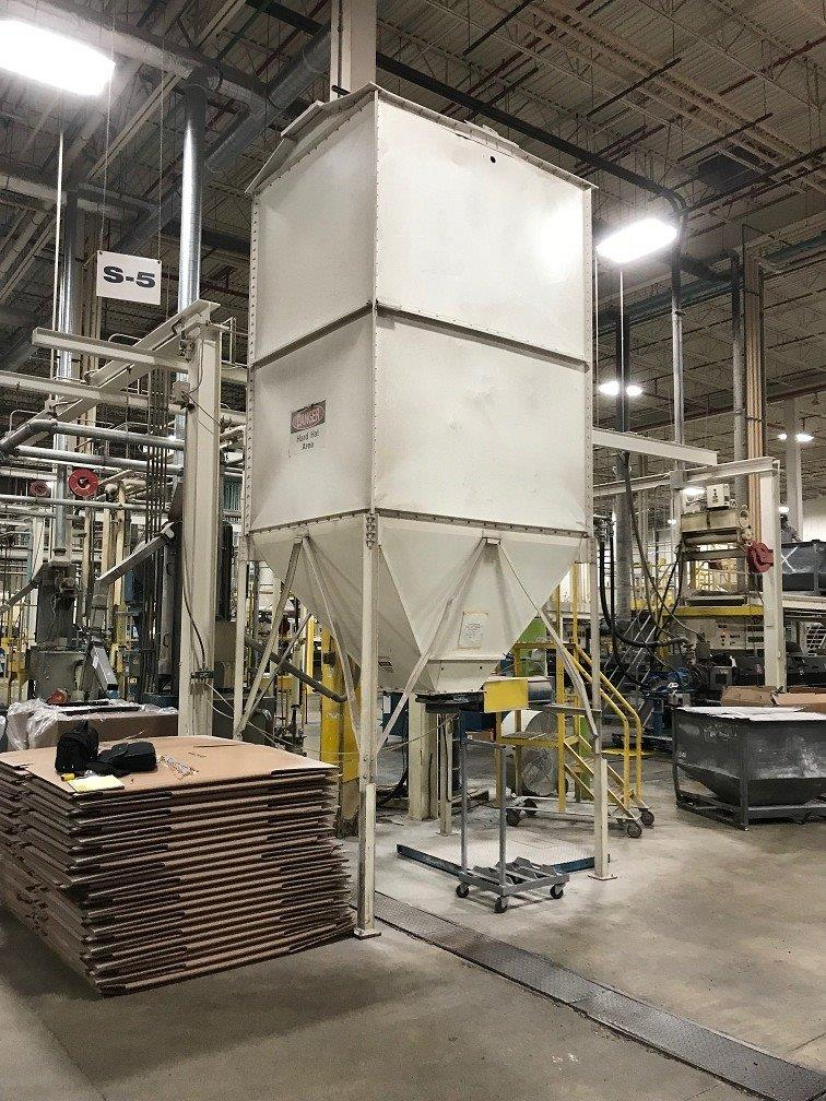 500 cubic foot silo used