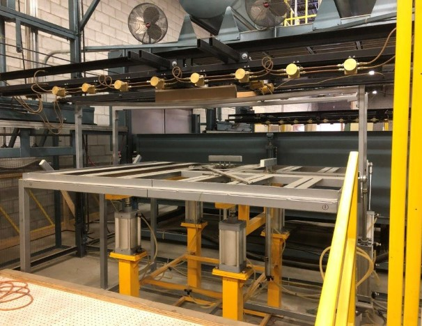 used 2007 double heater theromforming machinery