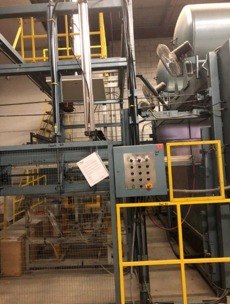 used shuman double oven thermoforming equipment