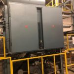 used shuman double heater thermoforming machine for sale