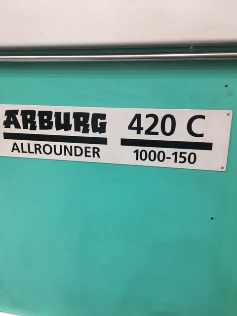 used arburg allrounder 110 ton machine for sale