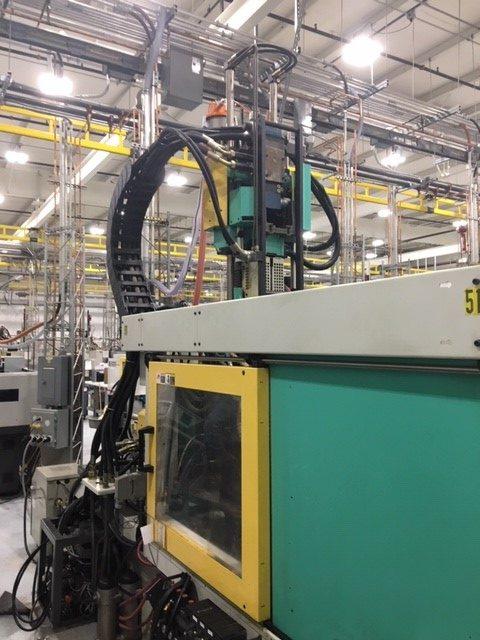 arburg 420c 1000-60/150 2 shot injection molding machine used