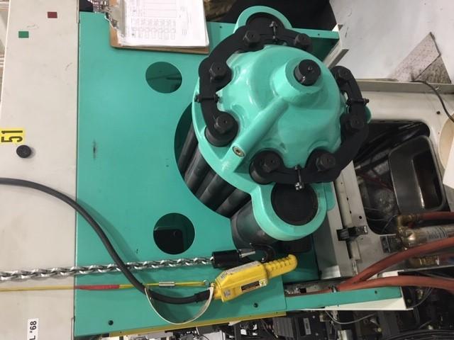 used 110 ton arburg shot injection moulding machine