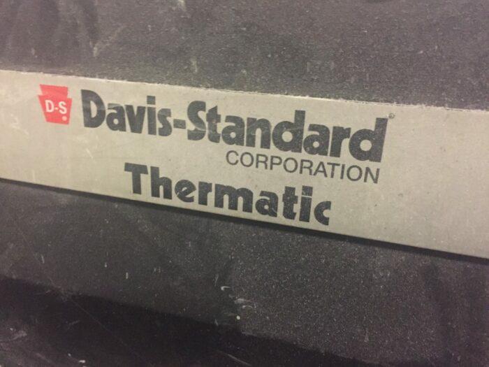 used gala pelletizer on davis standard extruder