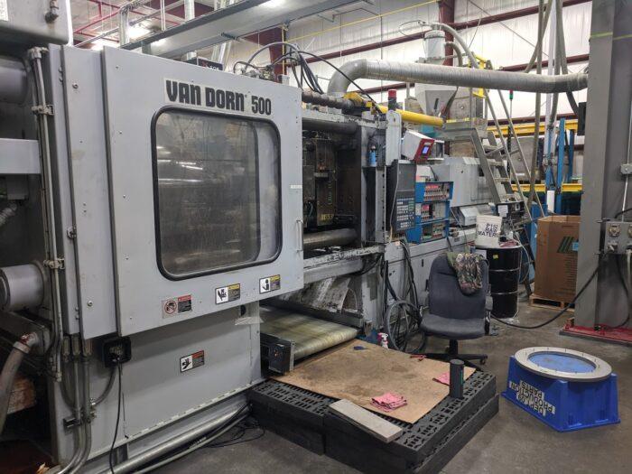 500 ton Van Dorn HP-1999 (5)