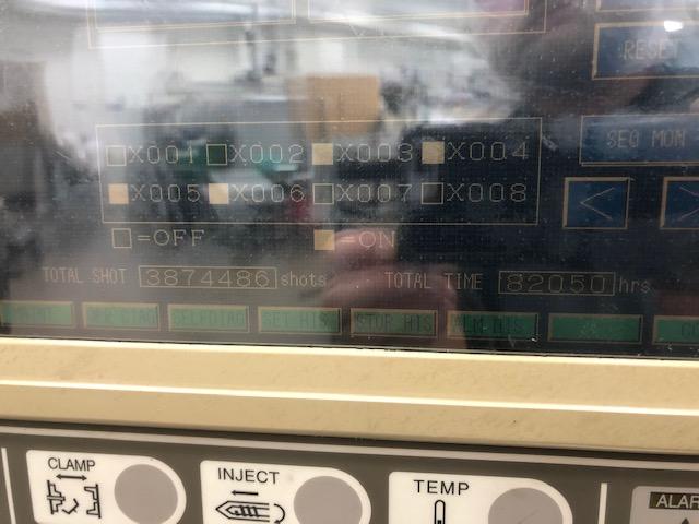 used 60 ton toshiba horizontal injection molding machine for sale