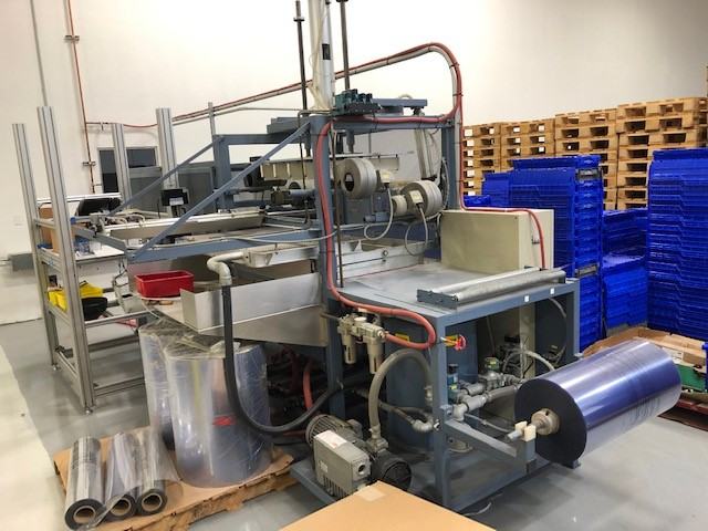 starview fom25-40 inline thermoformer used machine for sale