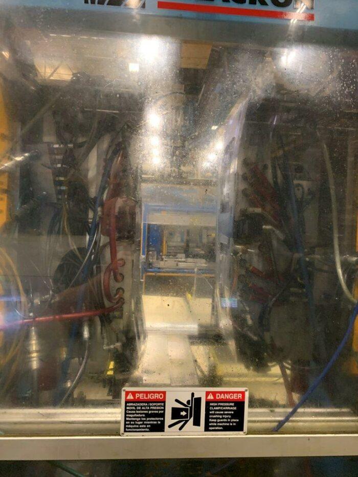 Used Uniloy Milacron Model UMA 40-80-GP4 Accumulator Head Blow Molding Machine