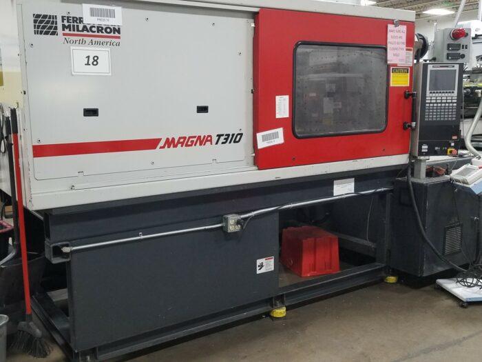 Used 310 Ton Cincinnati Milacron MT310WP41 Injection Molding Machine 1 Cincinnati