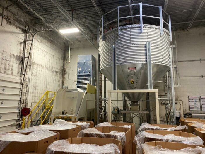 used blending silo for sale