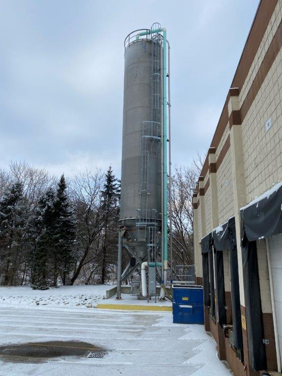 used 190k lb used blending silo for sale