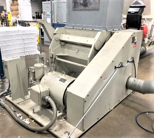 100hp cumberland model x1000 grinder used equipment for sale