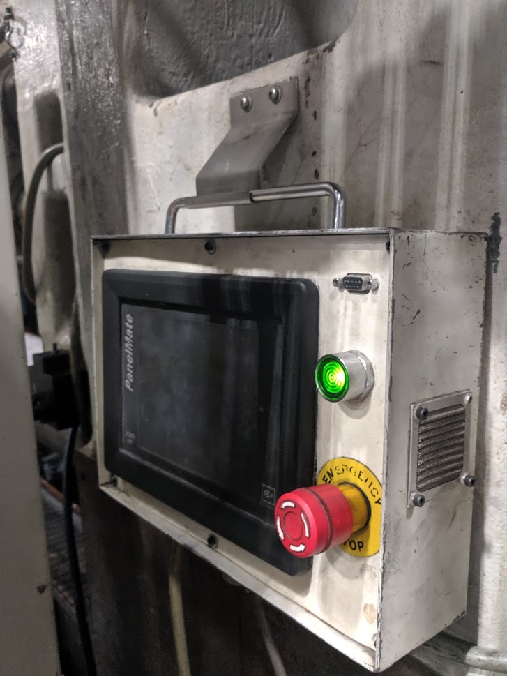 used cincinnati 1880 ton injection moulding machine for sale