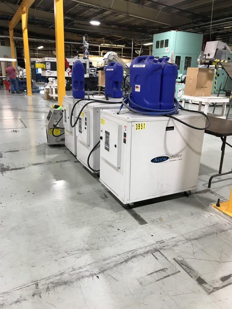 used 2.2 ton thermal care brand accuchiller