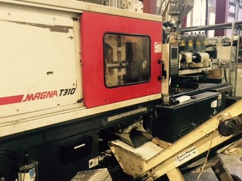 Used 310 Ton Cincinnati MTs310 Injection Molding Machine 1 Cincinnati