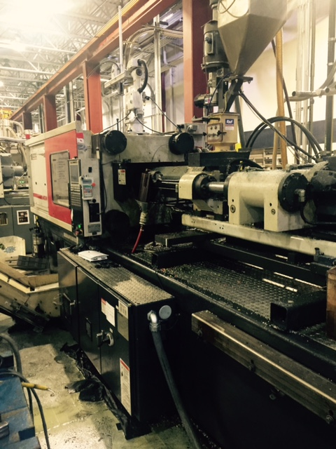 used 310 ton cincinnati injection moulding machine for sale