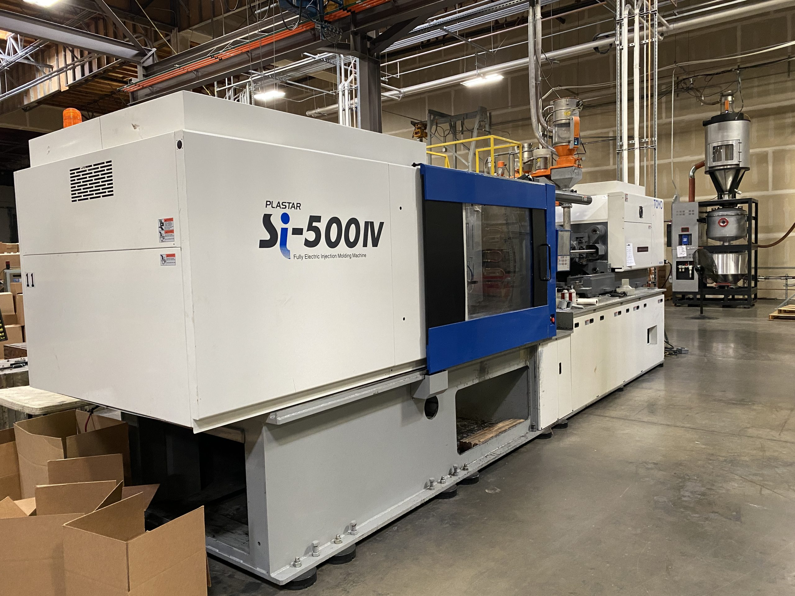 used si500iv injection molding machine for sale
