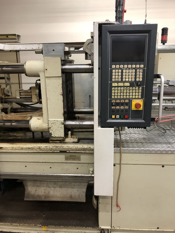 used injection molding machine negri bossi 120 ton